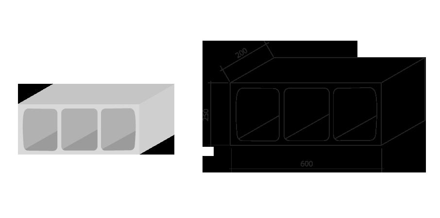 Ibez sa prefabricados de hormign for Bloques de hormigon medidas